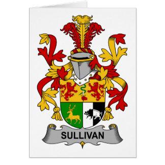 Escudo de la familia de Sullivan Tarjetas