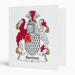 Escudo de la familia de Surtees