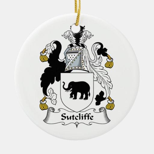 Escudo de la familia de Sutcliffe Adorno De Reyes