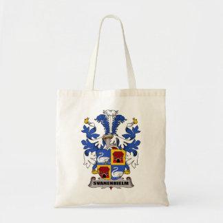 Escudo de la familia de Svanenhielm Bolsa Lienzo