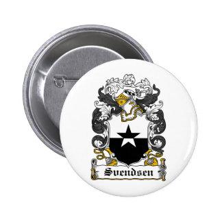Escudo de la familia de Svendsen Pin