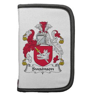 Escudo de la familia de Swainson Organizador