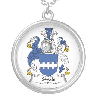 Escudo de la familia de Swale Colgante Redondo