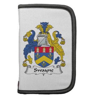 Escudo de la familia de Swayne Organizadores