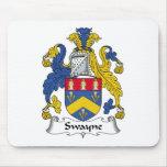 Escudo de la familia de Swayne Tapete De Raton