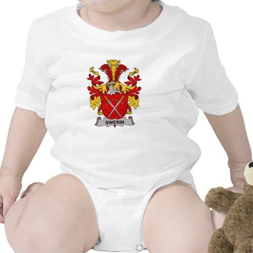 Escudo de la familia de Swerin Traje De Bebé