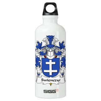Escudo de la familia de Swienczyc Botella De Agua De Aluminio