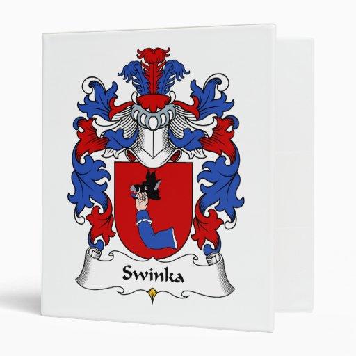 """Escudo de la familia de Swinka Carpeta 1"""""""