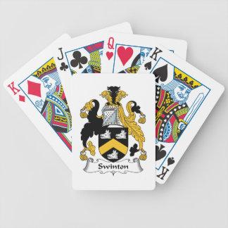 Escudo de la familia de Swinton Baraja