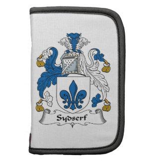 Escudo de la familia de Sydserf Planificadores