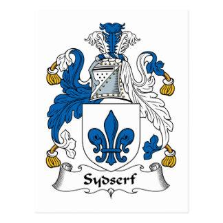 Escudo de la familia de Sydserf Postal