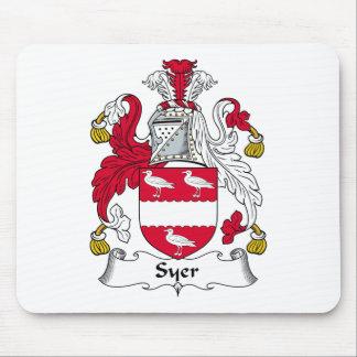 Escudo de la familia de Syer Alfombrilla De Ratones