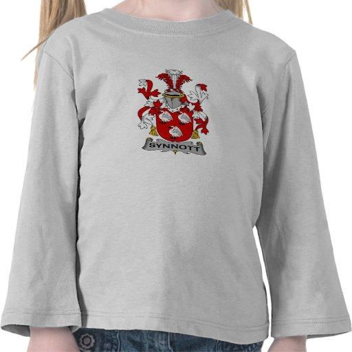Escudo de la familia de Synnott Camiseta