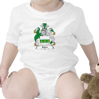 Escudo de la familia de Taber Traje De Bebé