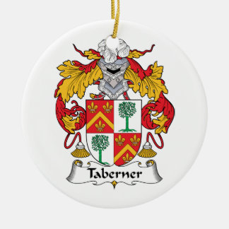 Escudo de la familia de Taberner Adornos De Navidad