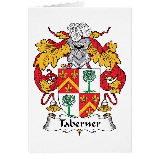 Escudo de la familia de Taberner Felicitaciones