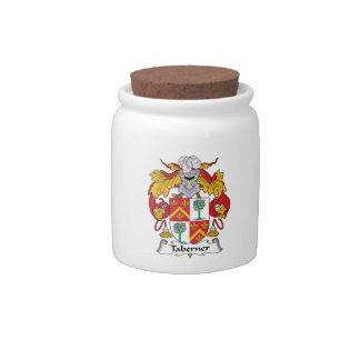 Escudo de la familia de Taberner Platos Para Caramelos