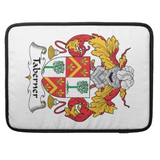 Escudo de la familia de Taberner Funda Para Macbooks