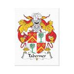 Escudo de la familia de Taberner Impresión En Lienzo Estirada