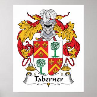 Escudo de la familia de Taberner Impresiones