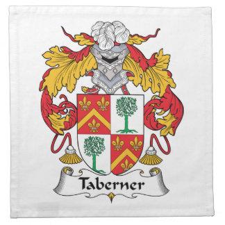 Escudo de la familia de Taberner Servilleta De Papel