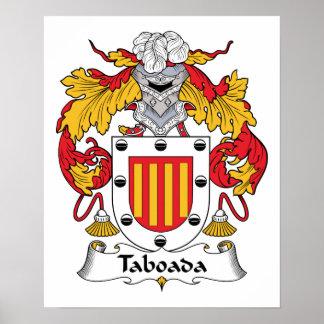 Escudo de la familia de Taboada Póster