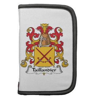 Escudo de la familia de Taillandier Planificadores