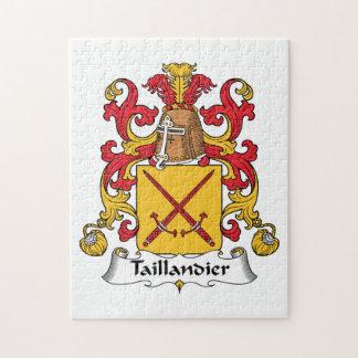 Escudo de la familia de Taillandier Puzzle Con Fotos