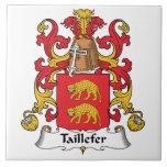Escudo de la familia de Taillefer Azulejo