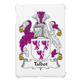 Escudo de la familia de Talbot iPad Mini Carcasas