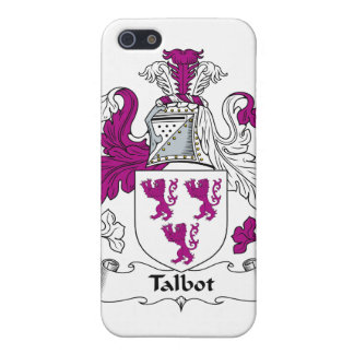 Escudo de la familia de Talbot iPhone 5 Protector