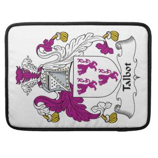 Escudo de la familia de Talbot Funda Para Macbook Pro