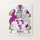 Escudo de la familia de Talbot Rompecabezas