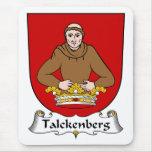 Escudo de la familia de Talckenberg Alfombrillas De Ratones