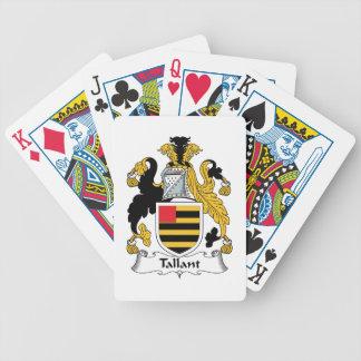 Escudo de la familia de Tallant Baraja