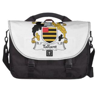 Escudo de la familia de Tallant Bolsas Para Portatil