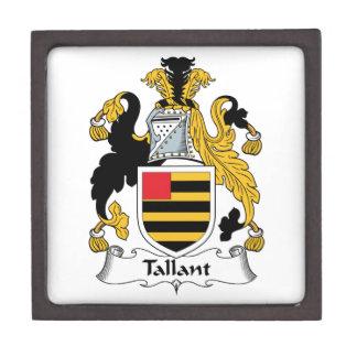 Escudo de la familia de Tallant Cajas De Recuerdo De Calidad