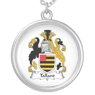 Escudo de la familia de Tallant Colgante Redondo