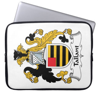 Escudo de la familia de Tallant Fundas Computadoras