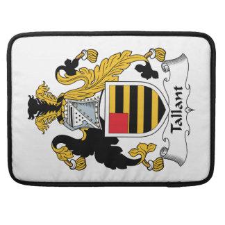 Escudo de la familia de Tallant Fundas Para Macbooks