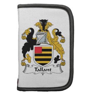 Escudo de la familia de Tallant Organizador