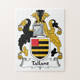 Escudo de la familia de Tallant Puzzles