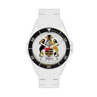 Escudo de la familia de Tallant Reloj