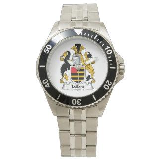 Escudo de la familia de Tallant Reloj De Mano