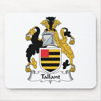 Escudo de la familia de Tallant Alfombrillas De Ratón
