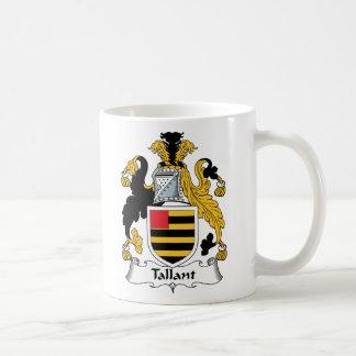 Escudo de la familia de Tallant Taza
