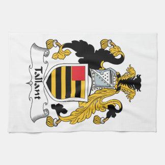 Escudo de la familia de Tallant Toallas