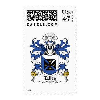 Escudo de la familia de Talley Estampilla