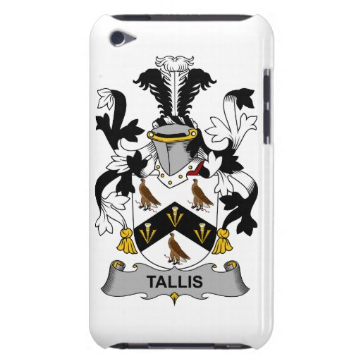 Escudo de la familia de Tallis Case-Mate iPod Touch Cobertura