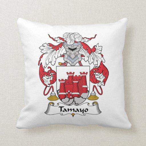 Escudo de la familia de Tamayo Almohadas